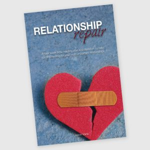 relationship repair bible devotion